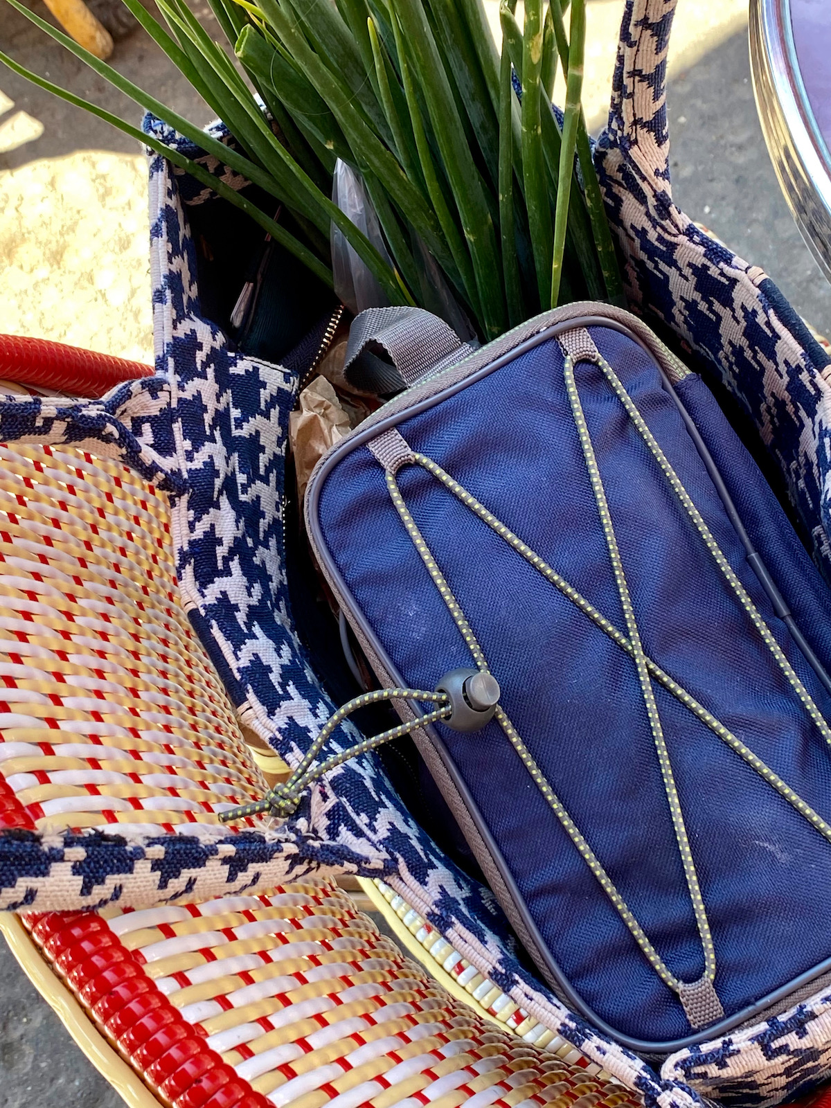 french summer market bag addition