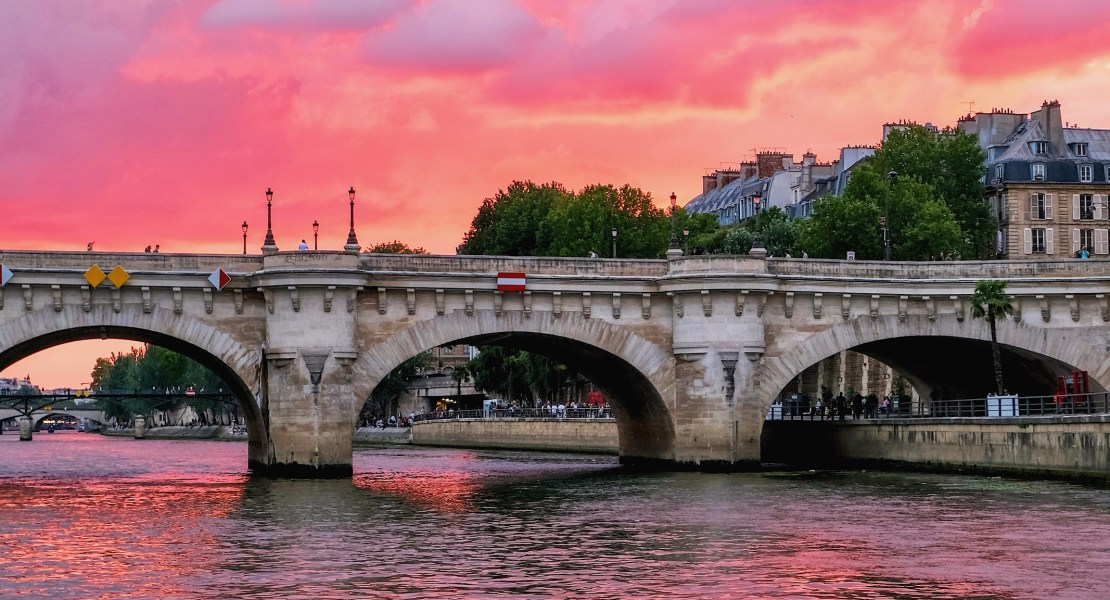pont neuf paris sunset featured