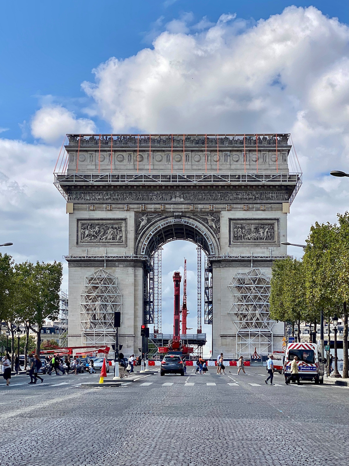 the arc de triomphe, wrapped project
