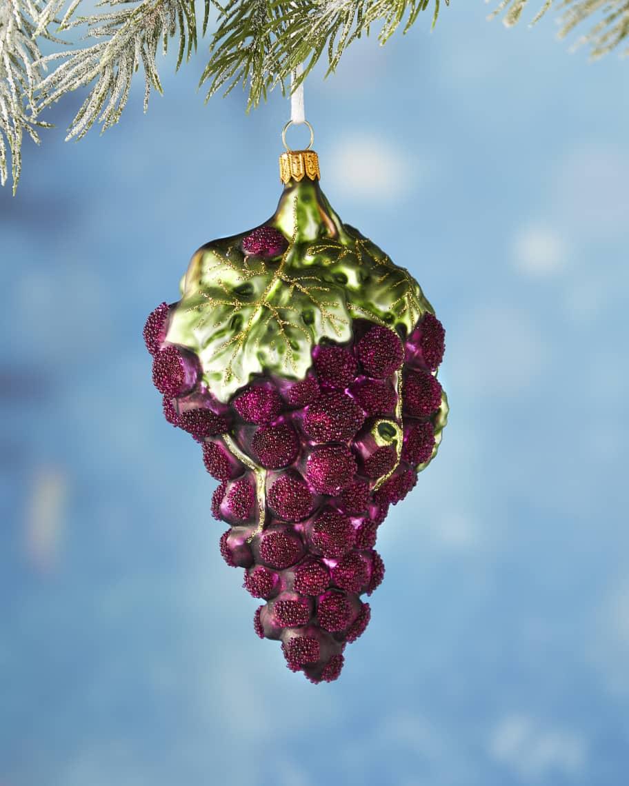 grape christmas ornament