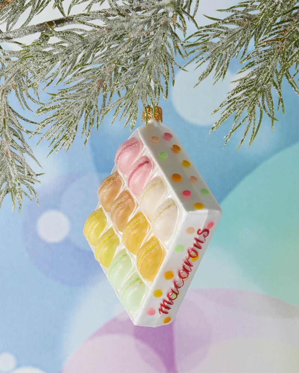macaron box ornament