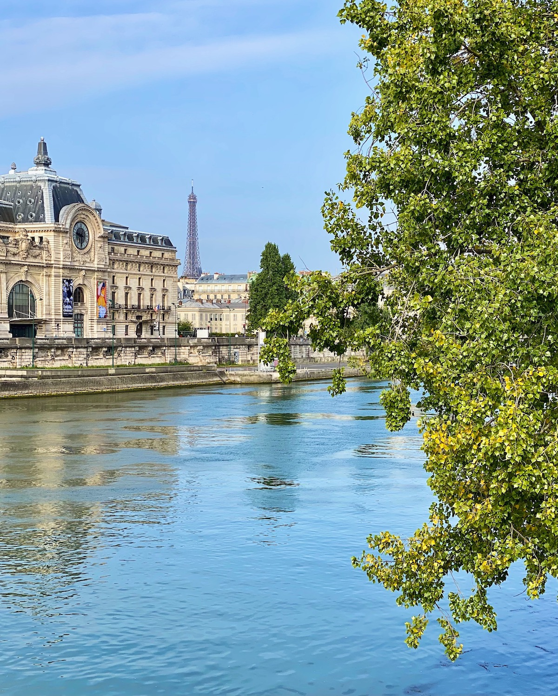 view of paris in august