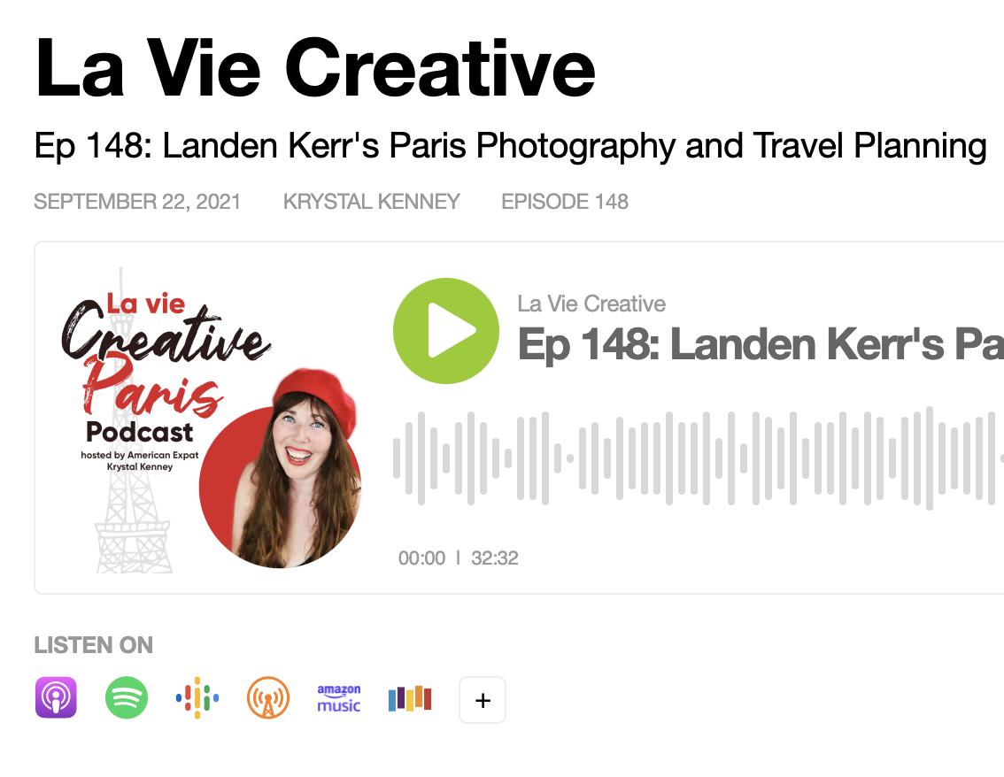 la vie creative podcast